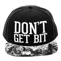 Baseball Cap - The Walking Dead - Don't Get Bit Snapback Hat sb2wb7wad