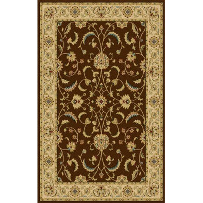 Central Oriental 8810BW58 5 ft.  x 7. 5 ft.  Interlude Atelier Oriental Rug - Brown