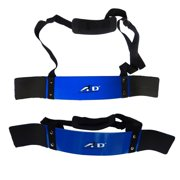 ARD CHAMPS™ Heavy Duty Arm Blaster Body Building Bomber Bicep Curl Triceps New, Color Blue