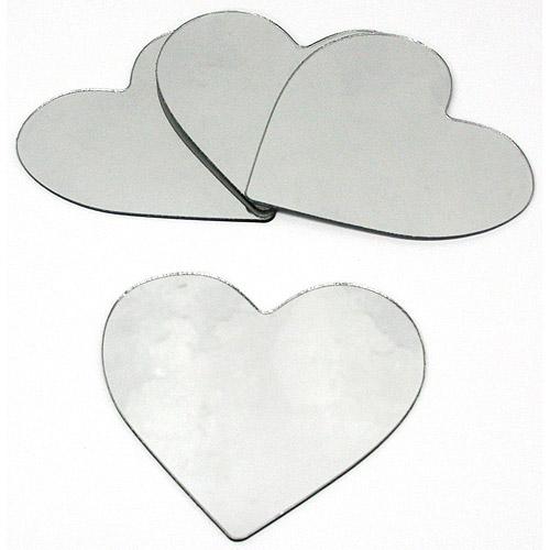 RoomMates - Heart Peel & Stick Mirrors