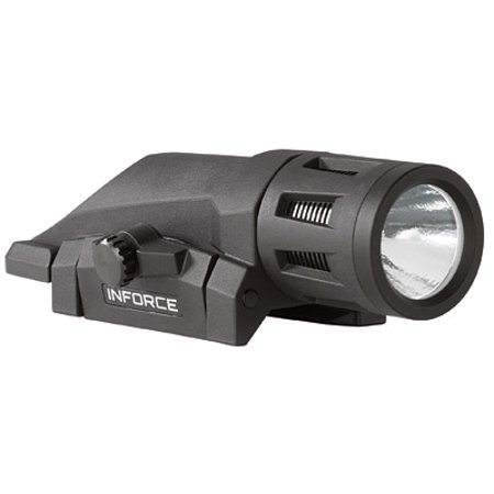 InForce Gen 2 WML LED Weapon Mounted Tactical Rail Light, 400 Lumens, Black -