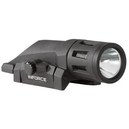 InForce Gen 2 WML LED Weapon Mounted Tactical Rail Light, 400 Lumens, Black - W-05-1