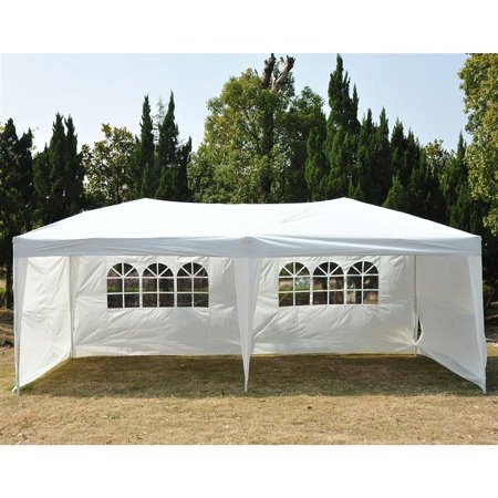 Outsunny 10 X 20 Easy Pop Up Canopy Party Tent White W