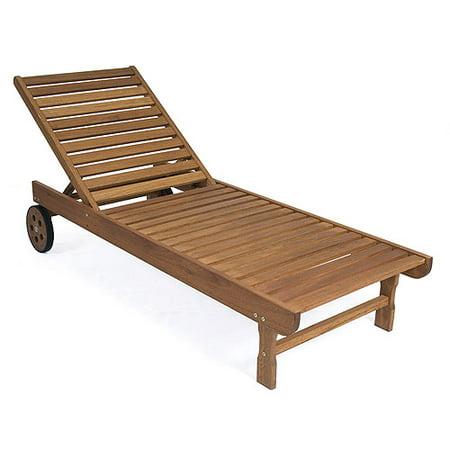 Milano Fsc Eucalyptus Garopaba Deck Chair Walmart Com