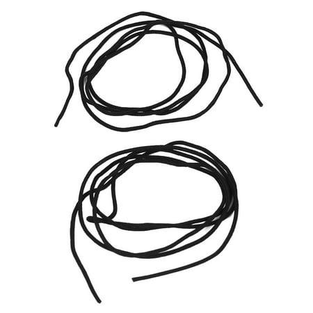 46mm diamètre Casser Avant Plastique Objectif Appareil Photo numérique Lentille Casquette Cover Protecteur Noir 2pcs - image 1 de 2