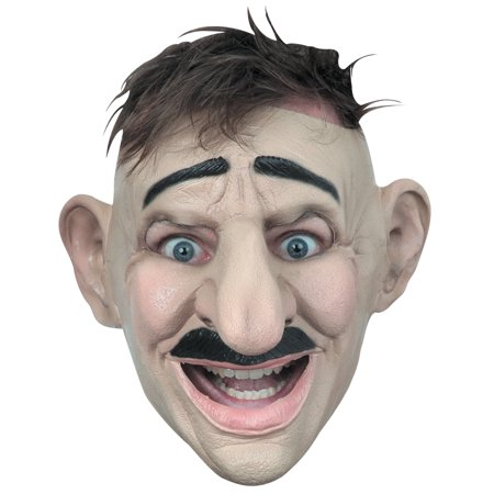 Adult Customizable Hairstyle Big Nose Funny Mask - Hairstyles For Halloween