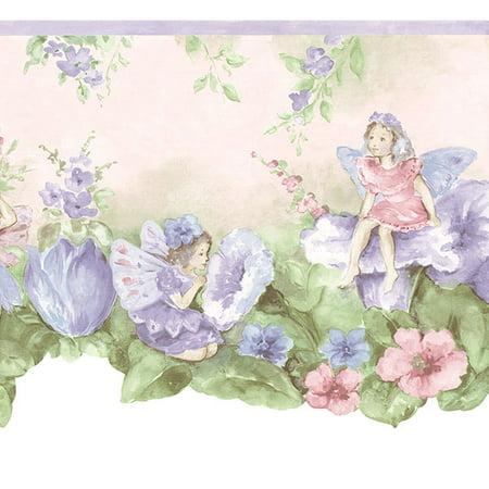 879031 Fairy Wallpaper Border