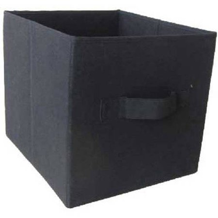 mainstays collapsible fabric storage cube set of 2 multiple colors 12 5 x 12 5. Black Bedroom Furniture Sets. Home Design Ideas