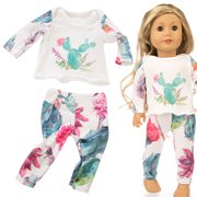 〖Follure〗Beautiful Pajamas Clothes For 18 Inch American Doll Accessory Girl's Toy