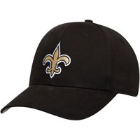 Men's Black New Orleans Saints Basic Adjustable Hat - OSFA