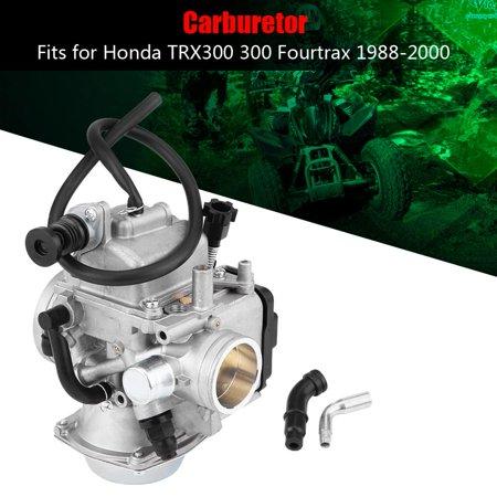 Hilitand Carburetor Carb Fits for Honda TRX300 300 Fourtrax 1988-2000, Carburetor Carb, Carburetor for Honda (Honda Fourtrax 300 Rims)