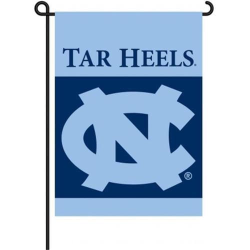 BSI PRODUCTS 83008 2-Sided Garden Flag - North Carolina Tar Heels