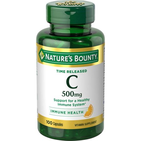 Time Release Youth Boost (Nature's Bounty Vitamin C Time Released, 500mg Capsules,)