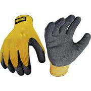 Dewalt DPG70XL  Gloves, Rubber Coated, XLarge