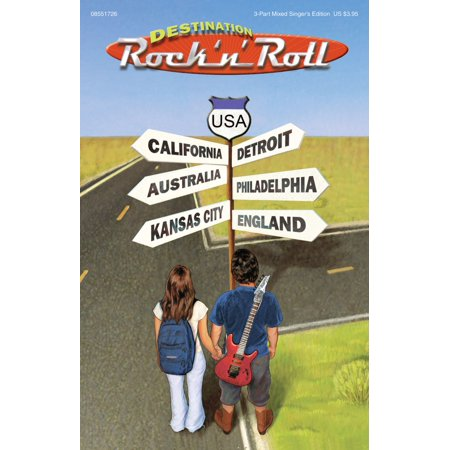 Destination Roll (Hal Leonard Destination Rock 'n' Roll (Choral Revue) 3 Part Singer arranged by Mark Brymer)