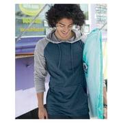 Burnside T-Shirts - Long Sleeve Yarn-Dyed Raglan Hooded Pullover 8127