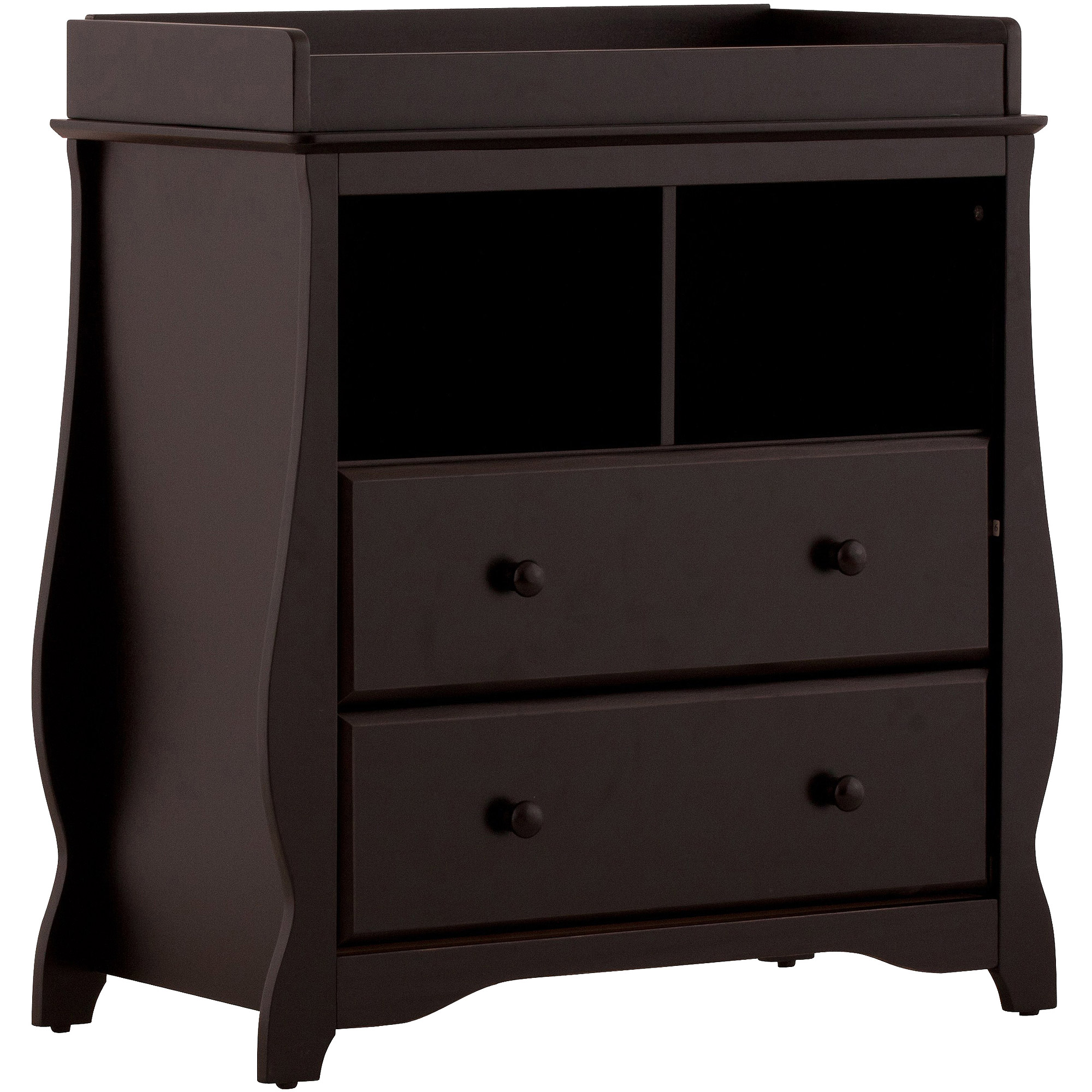 Storkcraft - Carrara 2-Drawer Changing Table, Choose Your Finish