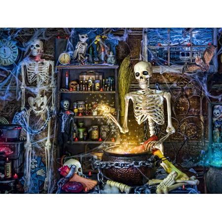Vermont Christmas Company Skeleton's Stew - 550 Piece Jigsaw Puzzle