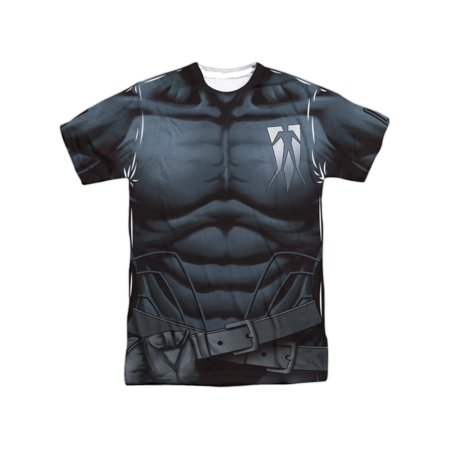 Shadowman Valiant Comics Superhero Shadowman Uniform Adult Front Print T-Shirt - Superhero Uniforms