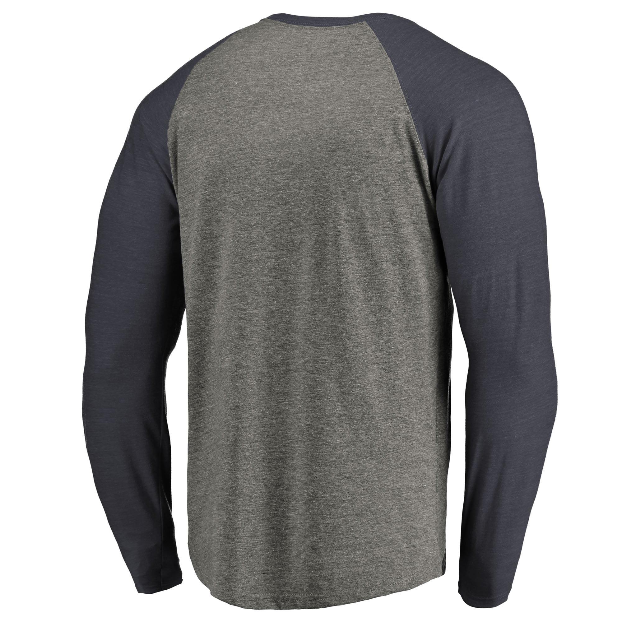 info for d34a3 7acd7 Washington Wizards Fanatics Branded Primary Wordmark Tri-Blend Long Sleeve T -Shirt - Heathered Gray - Walmart.com
