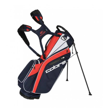 NEW 2018 Cobra 5-Way Ultralight Peacoat Navy/High Risk Red Golf Stand Bag