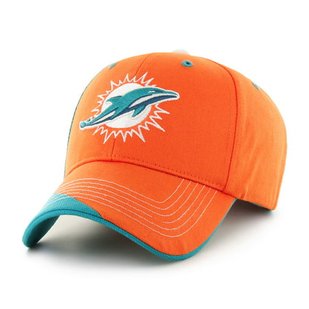 Fan Favorite - NFL Hubris Adjustable Cap, Miami Dolphins