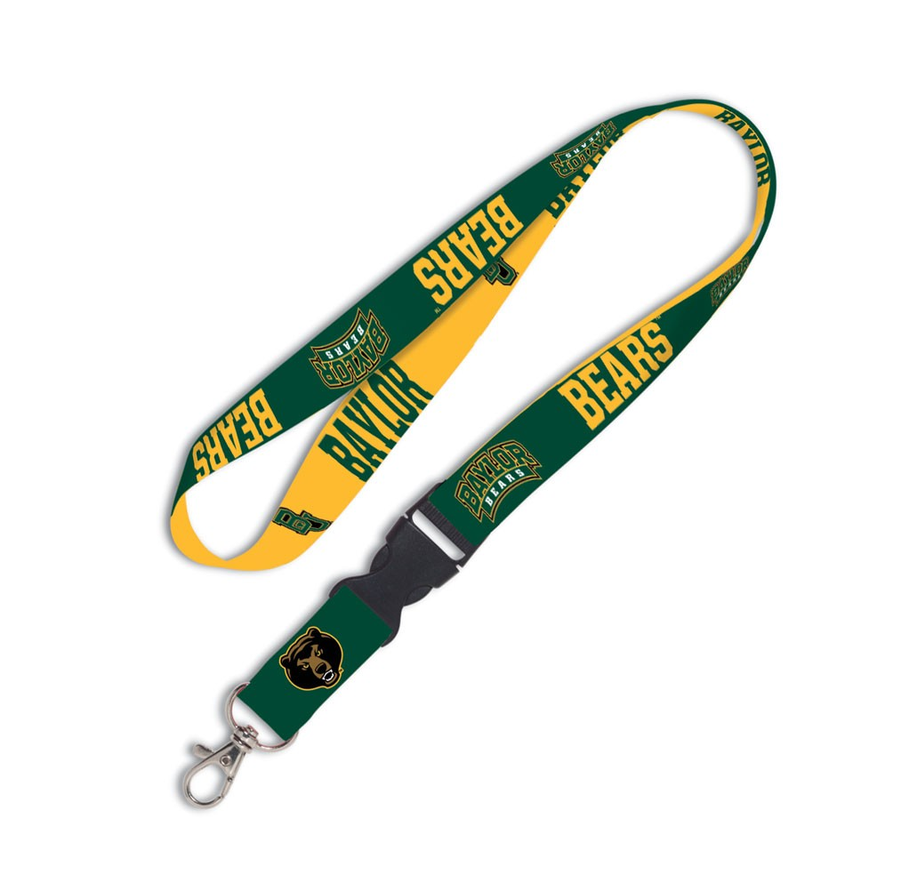 Baylor Bears Official NCAA 20 inch  Lanyard Key Chain Keychain by WinCraft