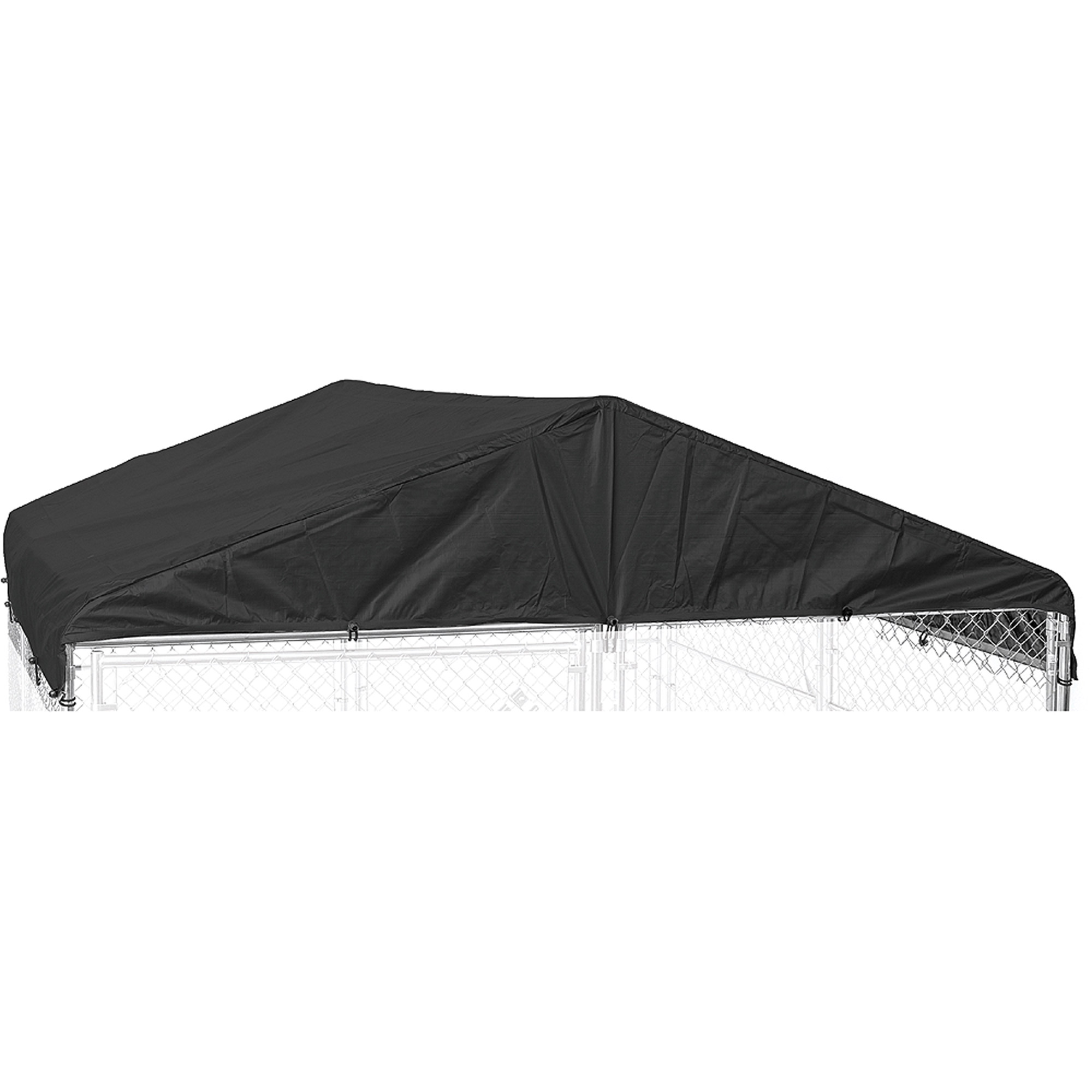 Lucky Dog Weatherguard 10'W x 10'L Kennel Frame and Cover Set