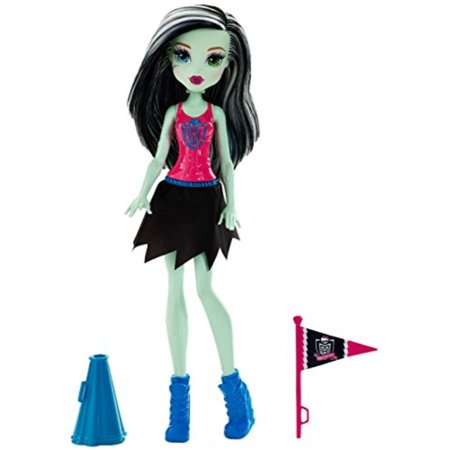 monster high cheerleading frankie stein doll & accessory](Frankie Stein Cartoon)