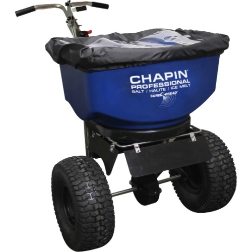 SureSpread Salt Spreader, 100 lbs by Chapin