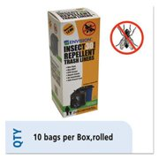 Stor-A-File STOP3340K13R 33 x 40 in. Insect-Repellent Trash Bags, 1.3 Mil - Black