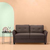 "Zinus Ricardo Contemporary Upholstered 62.2"" Loveseat"