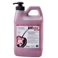 STOKO 1/2 Gallon Pump Bottle Red Kresto Cherry Perfumed Scented Hand