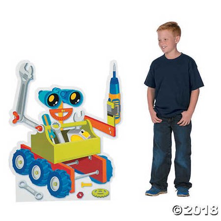 Geared Up for God VBS Robot Stand-Up](Themes For Vbs)