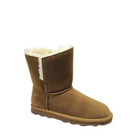 Women's Time and Tru Short Suede Boot ()