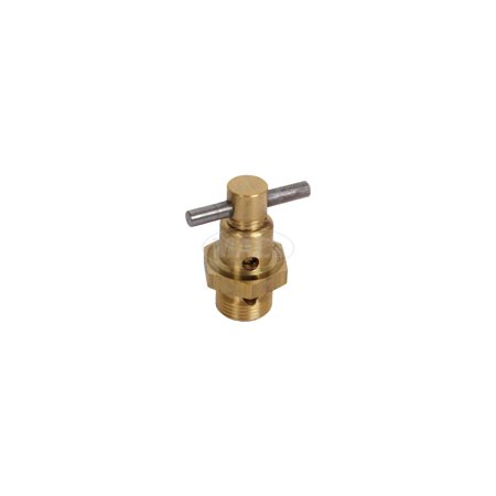 MACs Auto Parts Premier  Products 16-55953 Model T Ford Carburetor Drain Valve & Plug Set - Brass - For Holley Vaporizer