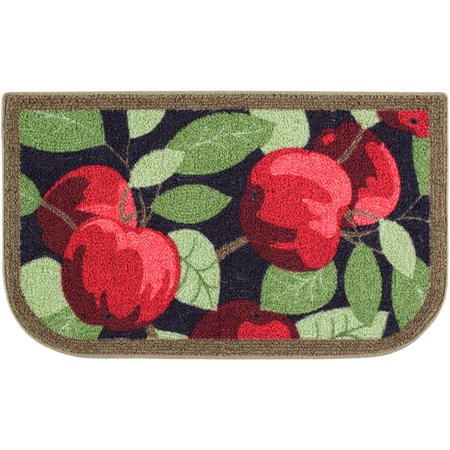 Better Homes & Gardens Red Apples Kitchen Loop Pile Print Rugs ()