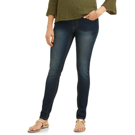 Oh! Mamma Maternity Skinny Jeans with Full Panel - Available in Plus