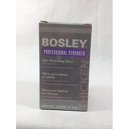 Bosley Professional Strength Hair Thickening Fibers 12g/0.42 oz. Light - Hair In The 1970s