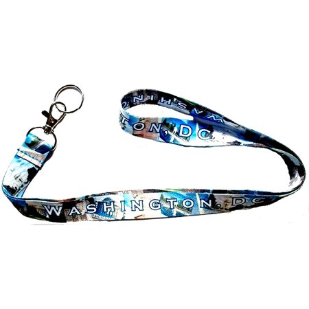 Washington DC Collage Lanyard