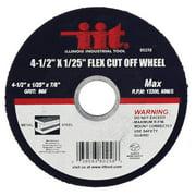 """Illinois Industrial Tool 4-1/2"""" x 1/25"""" Flex Cut-Off Wheel"""
