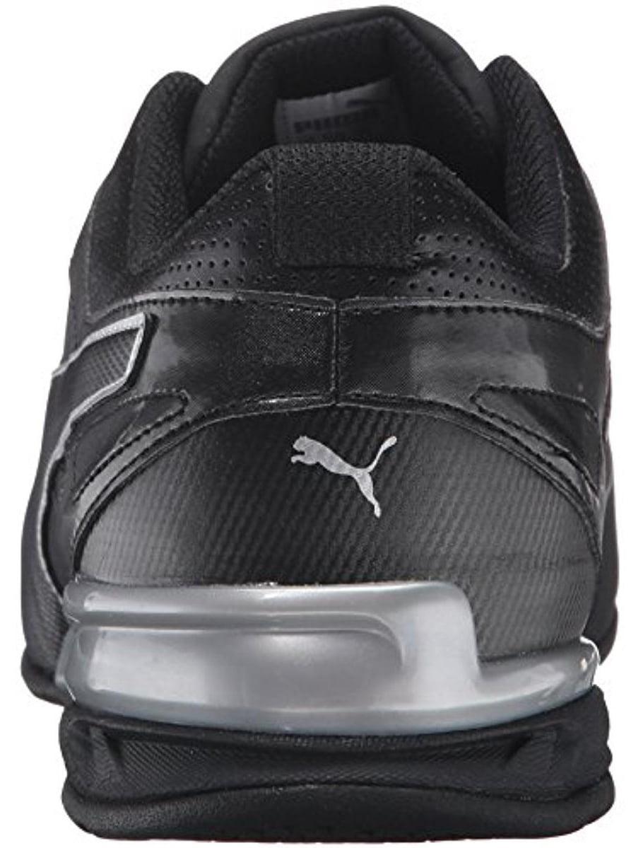 Puma 189873-03: Men Tazon 6 FM Crosstrainer Black/Silver Running Sneakers
