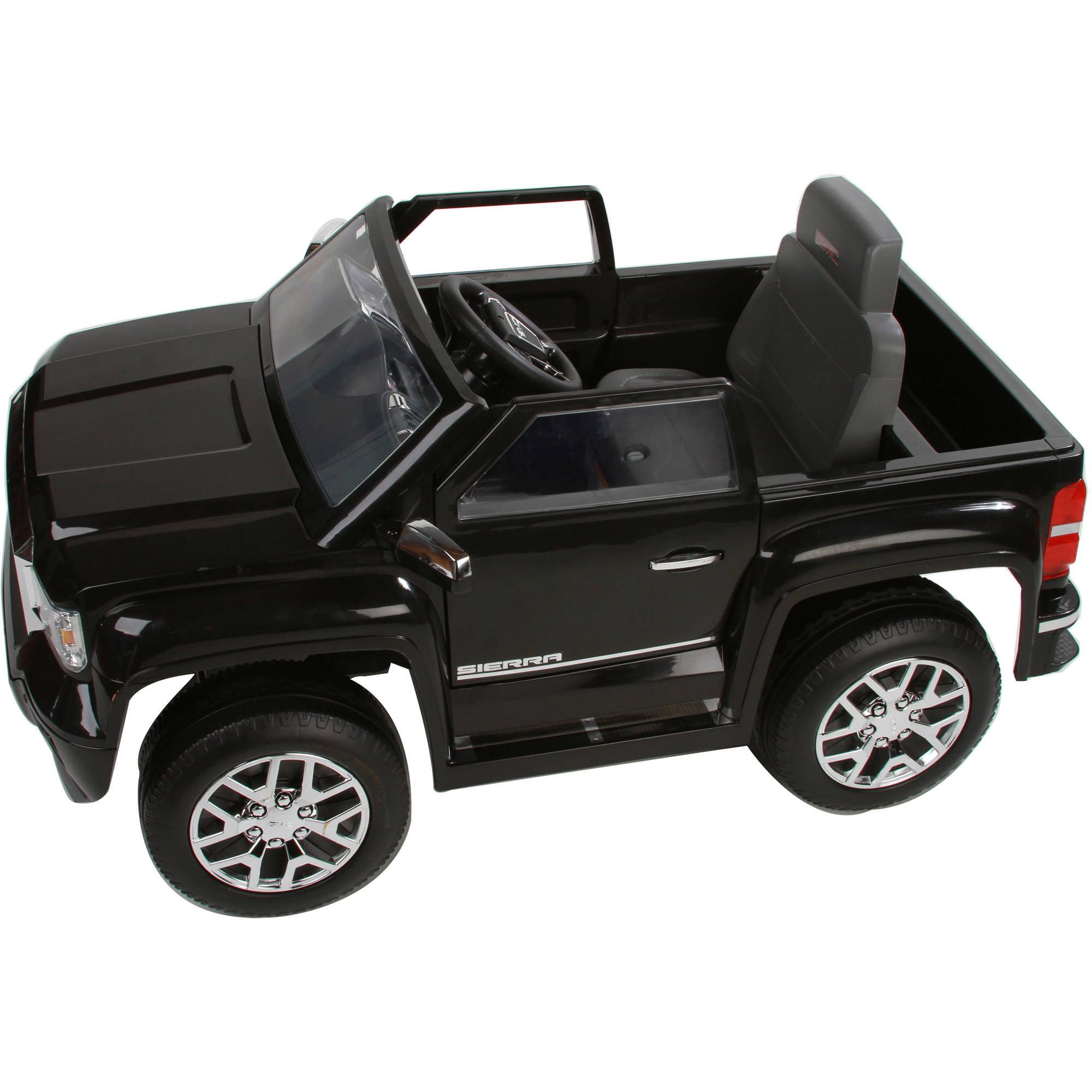 Rollplay Gmc Sierra 6 Volt Pickup Battery Ride On Vehicle Walmart Com Walmart Com