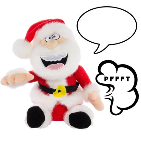 Simply Genius Farting Animated Santa Claus: Animated Christmas Plush, Animated Toys, Talking Toys, Stuffed Animals, Christmas Toys, Animated Christmas Decorations ()