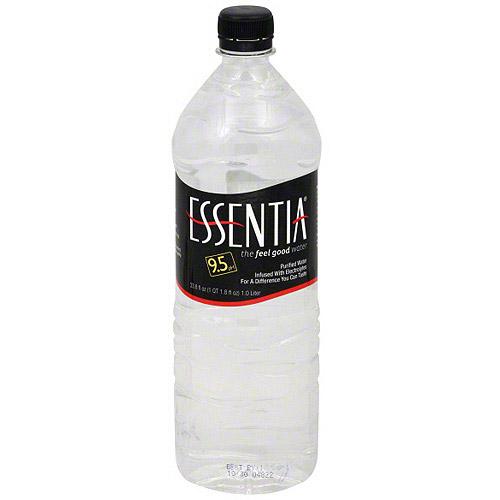 Essentia Enhanced Drinking Water, 1LT (Pack of 12)