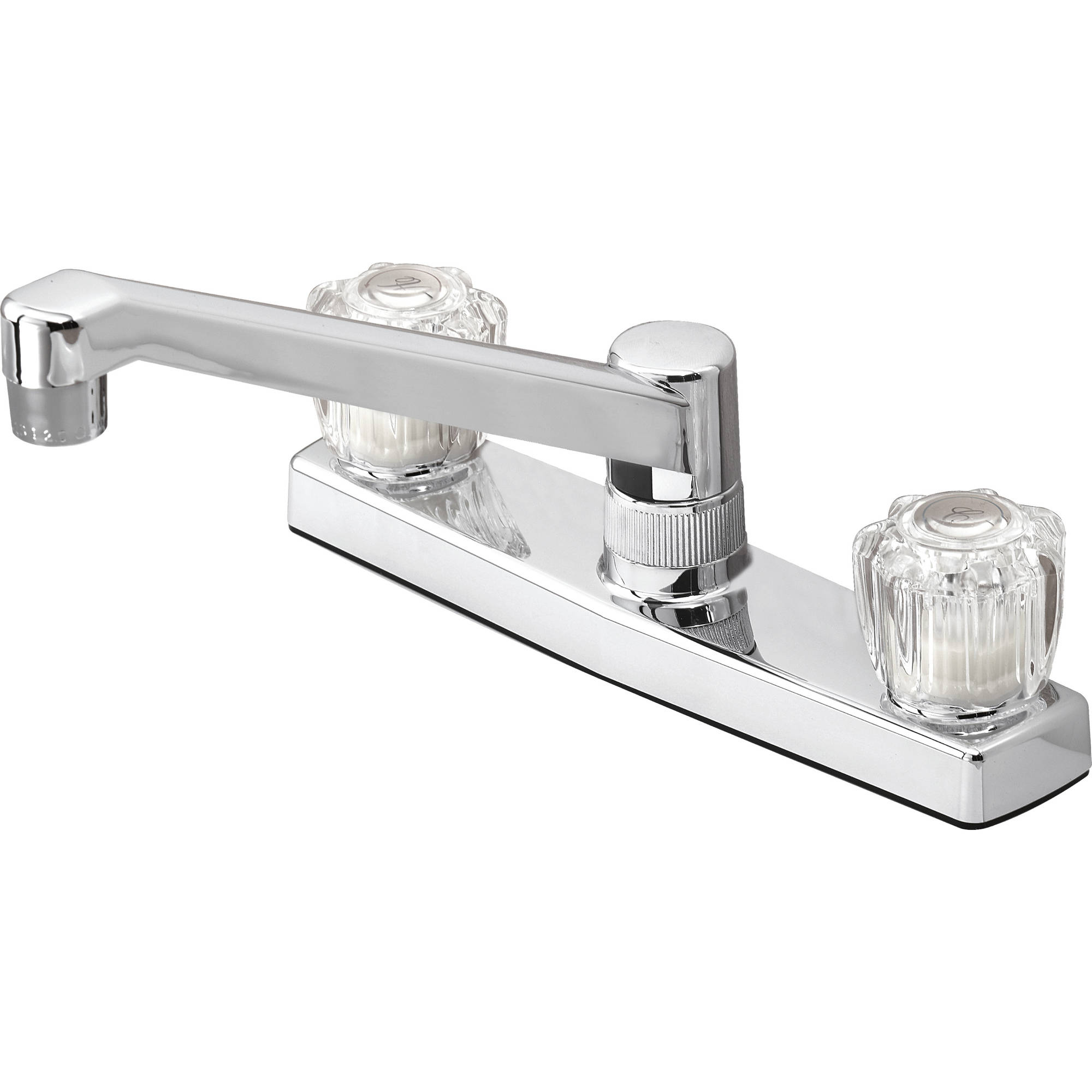 two handle kitchen faucet peerless two handle kitchen faucet in chrome psf0118 walmart com 7104