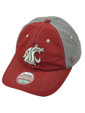 new product 68bf2 0a9b4 Product Image NCAA Zephyr Washington State Cougars Womens Hat Cap Burgundy  Gray Adjustable
