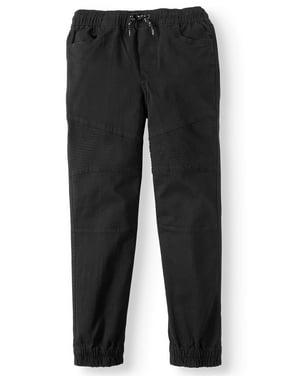 Tony Hawk Boys 8-16 Pull On Stretch Twill Moto Jogger Pants