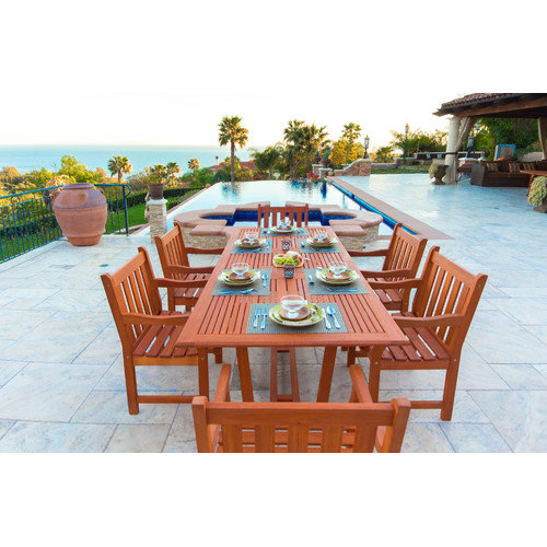 Vifah Airblade 7 Piece Dining Set