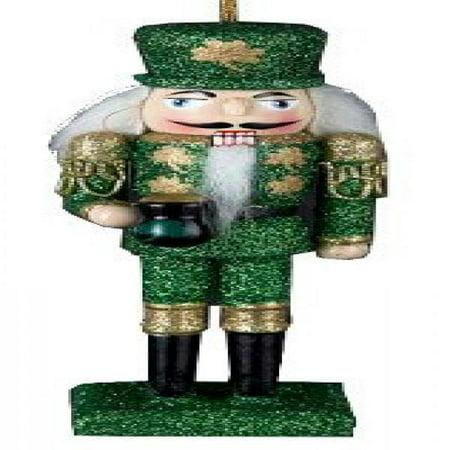 Wooden Irish Nutcracker Ornament 6 Inch (Nutcracker Holiday Ornaments)